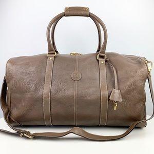 FENDI 50 Leather Duffle Bag